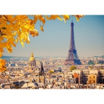 PUZZLE Autumn in Paris (1000 Teile)