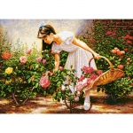 PUZZLE At The Rose Garden (1000 Teile)