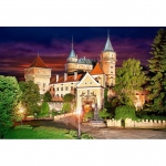 PUZZLE Bojnice Castle at Night (1000 Teile)