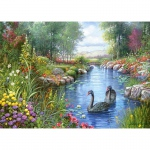 PUZZLE Black Swans, Andres Orpinas (1500 Teile)