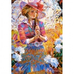 PUZZLE A Girl with an Openwork Umbrella (1500 Teile)