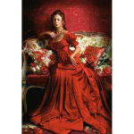 PUZZLE Beauty in Red (1500 Teile)