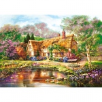 PUZZLE Twilight at Woodgreen Pond (3000 Teile)