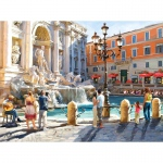 PUZZLE The Trevi Fountain (3000 Teile)