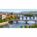 PUZZLE Vltava Bridges in Prague (4000 Teile)