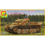 Panzer II Ausf. L LUCHS (Sd.Kfz.123) 9th Panzer Division - Classy Hobby 1/16