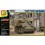 M5A1 Stuart (Late Version) - Classy Hobby 1/16