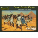 Ancient Egyptian Warriors - Caesar Miniatures 1/72