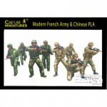 Modern French Army w. Chinese PLA - Caesar Miniatures 1/72