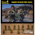 Counter-Terrorist Elite Forces - Caesar Miniatures 1/72