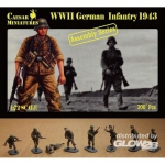 German Infantry 1943 - Caesar Miniatures 1/72