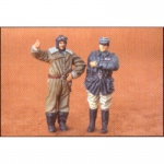 French Pilot & Officer WWI - CMK 1/48