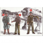 Japanese Army Pilots & Mechanics - CMK 1/72