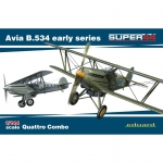 Avia B.534 early Series (Quattro Combo) - Eduard 1/144