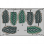 Leaves Palm Howea Belmoreana (colour) - 1/72