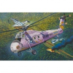 HH-34J USAF Combat Rescue-Helicopter - Gallery Models 1/48