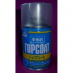 Topcoat Spray, seidenmatt