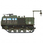 M4 High Speed Tractor (155mm/8-in./240mm) - Hobby Boss 1/72