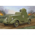 Soviet BA-20 Armored Car (Mod.1939) - Hobby Boss 1/35