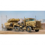 M911 C-HET w. M747 Heavy Equipment Semi-Trailer - Hobby Boss 1/35