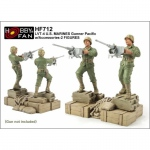 LVT-4 U.S. Marines Gunner Pacific w. Accessories - Hobby...