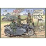 BMW R12 w. Sidecar (Military Version) - IBG 1/35