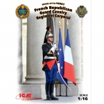 French Republican Guard Cavalry Regiment Corporal - ICM 1/16