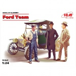 Ford Team (incl. Model T 1913 Roadstar) - ICM 1/24