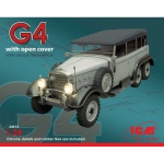 Mercedes-Benz G4 w. open Cover - ICM 1/24