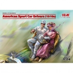 American Sport Car Drivers (1910s) - ICM 1/24