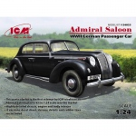 Admiral Saloon (WWII German Passenger Car) - ICM 1/24