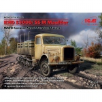 KHD S3000/SS M Maultier WWII German Semi-Tracked Truck -...