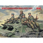 Soviet Armoured Carrier Riders (1979-1991) - ICM 1/35