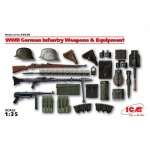 WWII German Infantry Weapons & Equipment - ICM 1/35