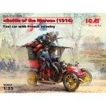 Battle of the Marne (1914), Taxi Car w. French Infantry -...