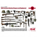 WWI German Infantry Weapon and Equipment - ICM 1/35