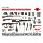 WWI French Infantry Weapon and Equipment - ICM 1/35