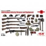 WWI British Infantry Weapon and Equipment - ICM 1/35