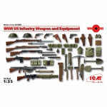 WWI US Infantry Weapon & Equipment - ICM 1/35