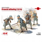 French Infantry (1916) - ICM 1/35