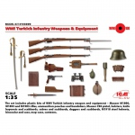 WWI Turkish Infantry Weapons & Equipment - ICM 1/35