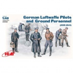 German Luftwaffe Pilots & Ground Pers. (1939-45) - ICM 1/48