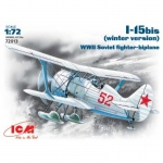 I-15 bis Soviet Fighter Biplane (Winter Version) - ICM 1/72