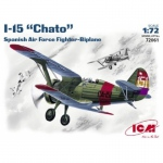I-15 Chato Spanish Airforce - ICM 1/72