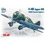 I-16 Typ 28 Soviet Fighter - ICM 1/72