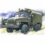 Ural 375A Command Truck - ICM 1/72