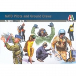 NATO Pilots & Ground Crews - Italeri 1/72
