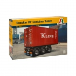 1:24 20 Container Trailer
