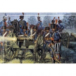 French Line - Guard Artillery - Italeri 1/72