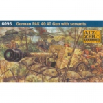 German Pak 40 ATG w. Servants - Italeri 1/72